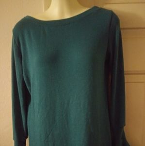 Nwt Go Couture size medium green blouse